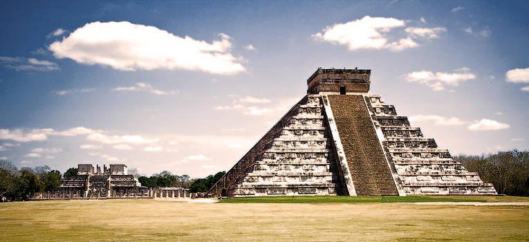Mysterious Chichen Itza by Chris Brannen