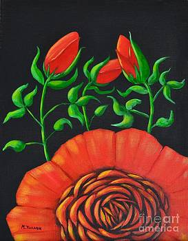 Mystery Flower by Melvin Turner