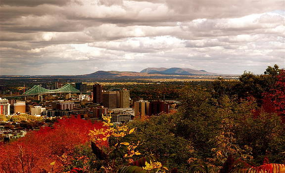 Mystery in Fall in Montreal by Jocelyne Choquette