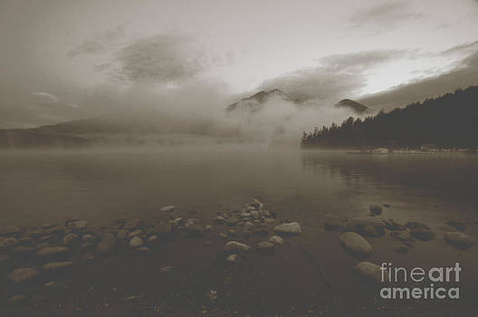 Mystic Copper Morning  by Judy Grant