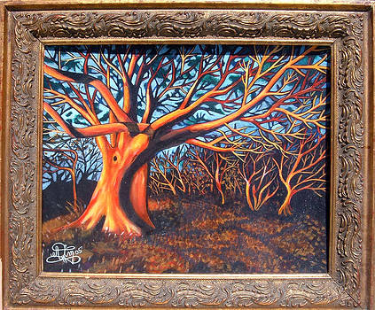 Mystic Trees by Annette Jimerson