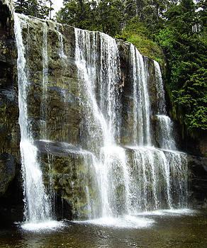 Mystic Waterfall by Dirk Lightheart