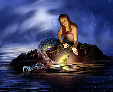 Mystical Mermaid by Jessica LeClerc