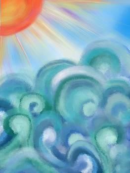Mystical sea by Christine Fournier