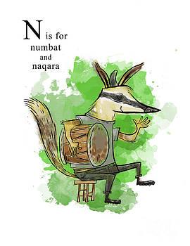 N is for Numbat by Sean Hagan