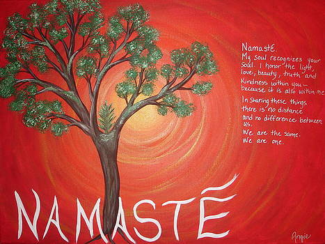 Namaste by Angie Butler