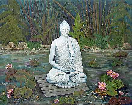 Namaste by Norma Tolliver