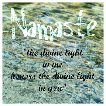 Michelle Calkins - Namaste with Crystal Waters