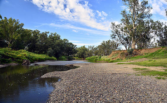 Namoi River by Terry Everson