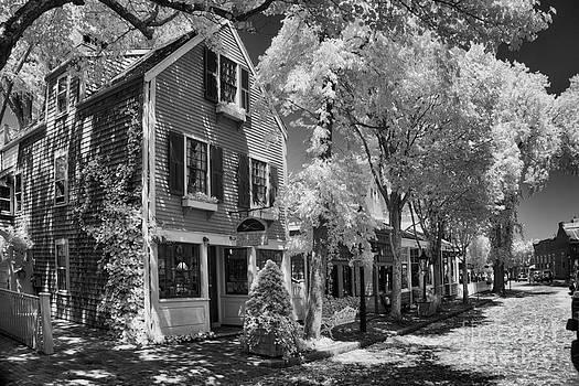 Nantucket Street Scene by Don Fleming