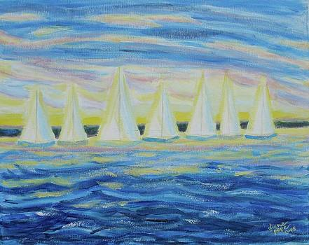 Nantucket Sunrise by Diane Pape