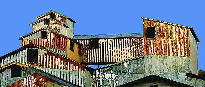 Napa Barn by Michael Fahey