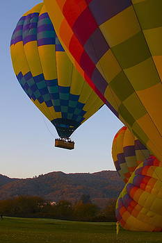 Napa Valley Balloons by Michael Blesius
