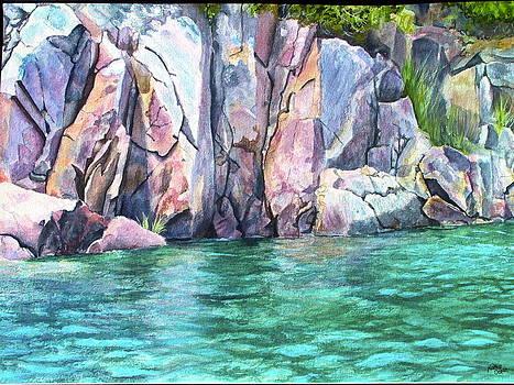 Narrow Passage by Kathy Dolan