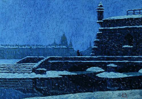 Naryshkin Bastion by Aleksey Zuev