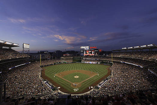 Nationals Park Washington D.C. by Paul Plaine