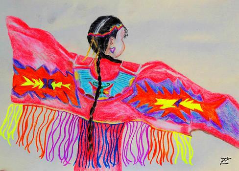 Ayasha Loya Aka Pari  Dominic - Native American Girl Dancer 1