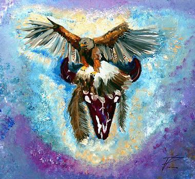 Native Hawk by Ayasha Loya Aka Pari  Dominic