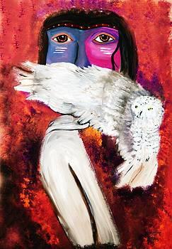 Ayasha Loya - Native Owl Totem