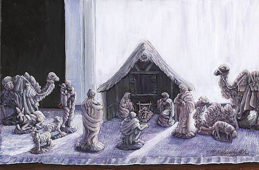 Nativity by Thomas Michael Meddaugh