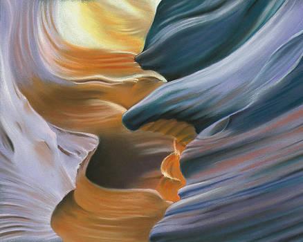 Natural abstract 5 by Charles Hubbard