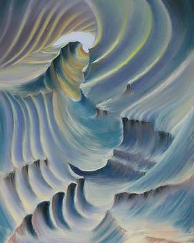 Natural abstract 6 by Charles Hubbard