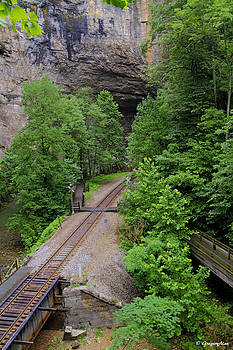 Natural Tunnel State Park by Gregory Johnson