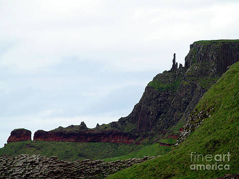 Nature's Geometry II- Giant's Causeway by Patricia Griffin Brett