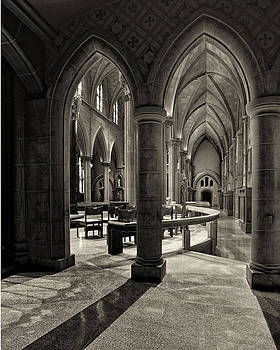 Nave of St. Joseph Cathedral by Dick Wood