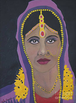 Naveena Indian Bride 4 by Kate Farrant