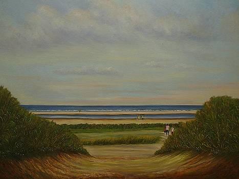 Near the beach by Andries Hartholt