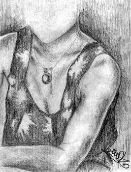 Necklace by Adina Bubulina