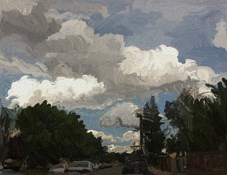 Neighborhood Clouds by Jessica Lynn Stuart