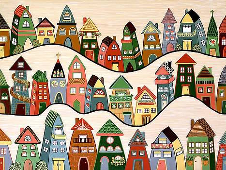 Neighborhood by Lisa Frances Judd