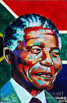 Nelson Mandela by Andrew Wilkie
