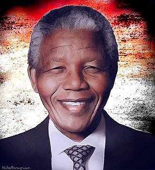 Nelson Mandela Madiba by Mike Rampino