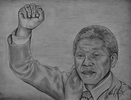 Nelson Mandela Tribute  by Robert Pennix