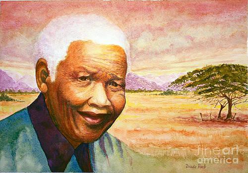 Nelson Mandela by Ursula Reeb