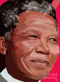 Nelson Rolihlahla Mandela by David Jackson