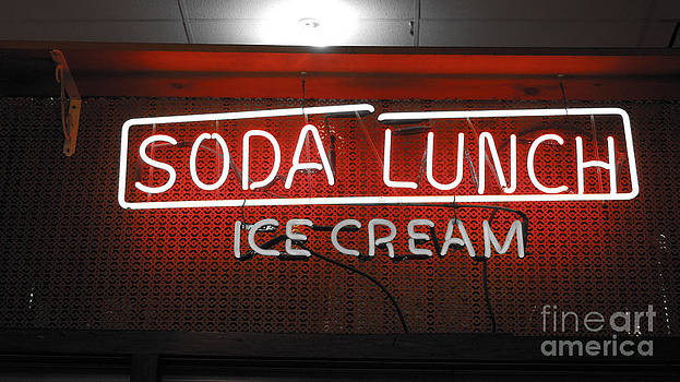 Neon Lunch by Michelle Hastings