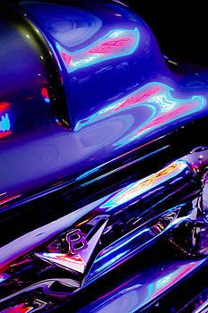 Jill Reger - Neon Reflections - Ford V8 Pickup Truck -1044c