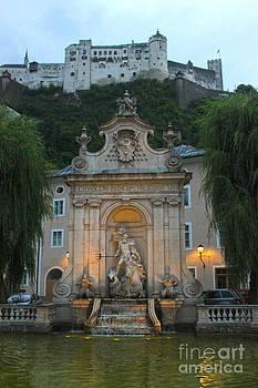 Gregory Dyer - Neptune Fountain in Salzburg Austria - 02