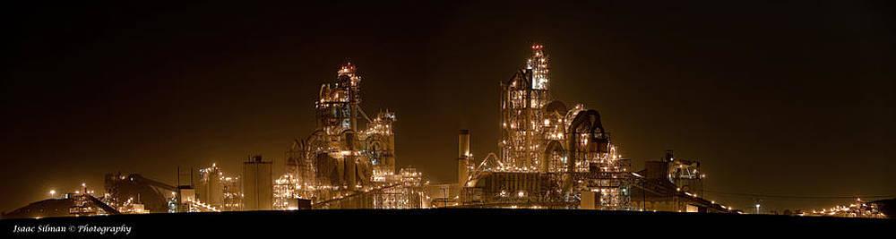 Isaac Silman - Nesher Cement plant
