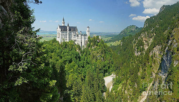 Neuschwanstein castle 2 by Rudi Prott