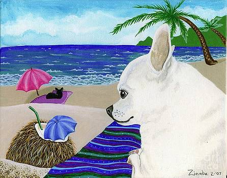Neutron at the Beach by Lori Ziemba