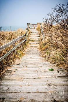 Paul Velgos - New Buffalo Boardwalk Wooden Walkway