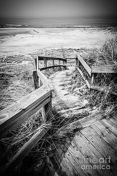 Paul Velgos - New Buffalo Michigan Boardwalk and Beach