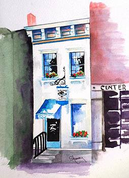 New Home of Kentucky Bourbon Bar by Sandi Stonebraker