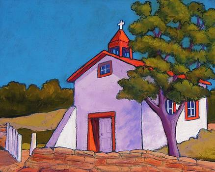 New Mexico Church by Candy Mayer