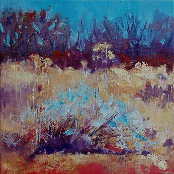 New Mexico Winter Two by Carol Hopper